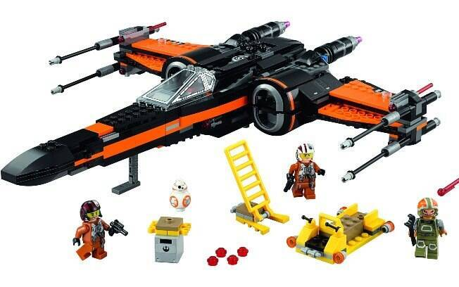 Poes X-Wing Fighter™ - preço sugerido: R$ 529,99