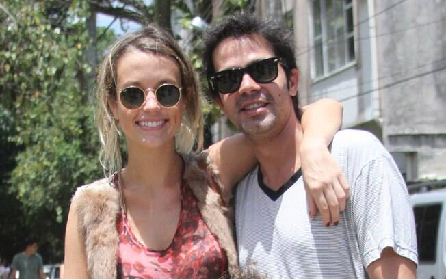 Juliana Didone e Bruno Mazzeo