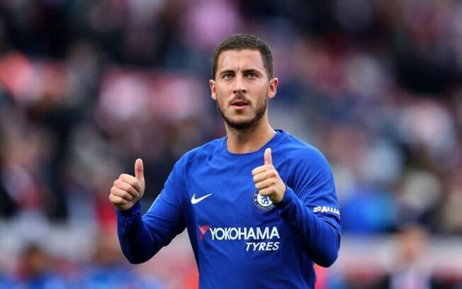 Eden Hazard é alvo do Manchester City