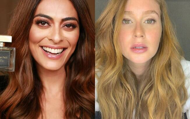 Juliana Paes e Marina Ruy Barbosa