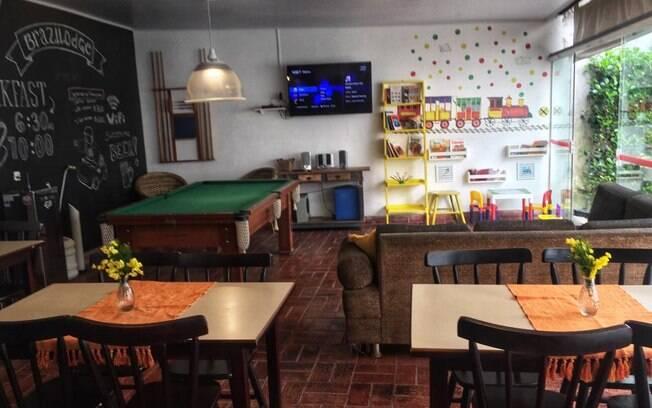 Tipos de hospedagem: Brasilodge All Suites Hostels