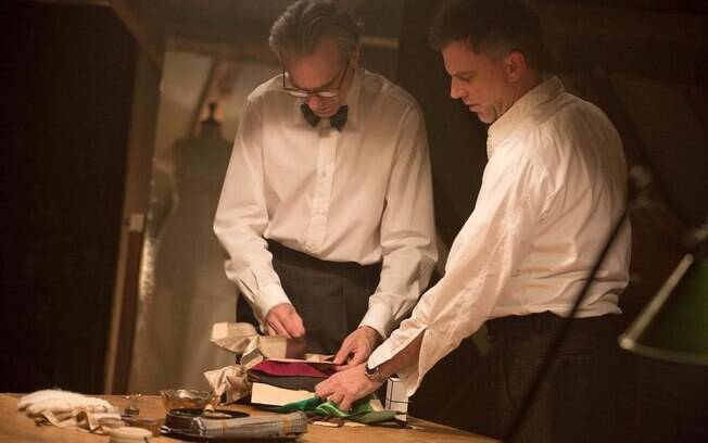 Paul Thomas Anderson orienta Daniel Day Lewis no sete de