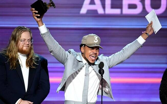 Chance The Rapper foi um dos grandes vencedores do Grammy 2017