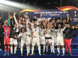 Real Madrid conquistou as duas últimas edições do Mundial de Clubes da Fifa