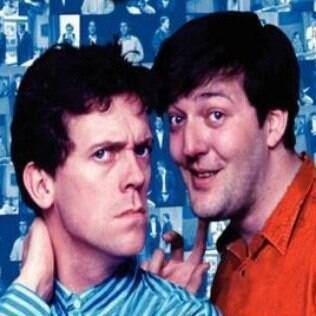 Laurie e Stephen Fry em 'A Bit of Fry & Laurie'