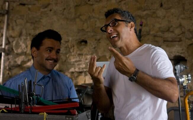 O ator e diretor norte-americano John Turturro em cena do documentpario musical