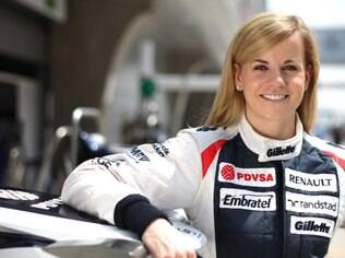 Susie Wolff testou carros da Williams