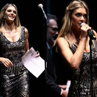 Fernanda Lima won the Variety Show award for 'Amor & Sexo'.