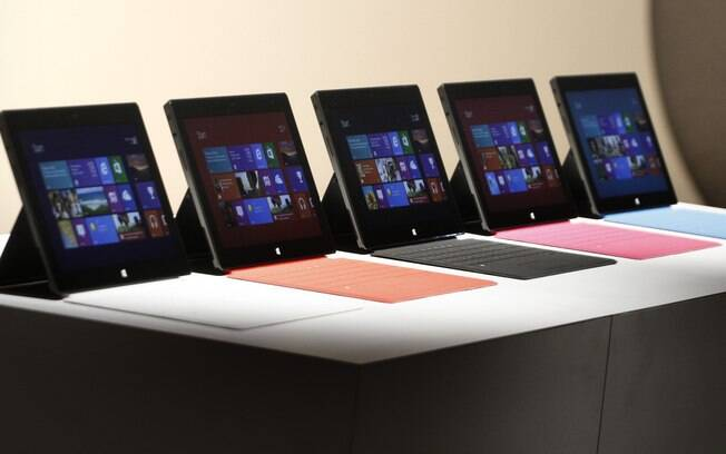 Tablets da linha Surface usarão o Windows RT, versão do Windows 8 específica para tablets com chips ARM