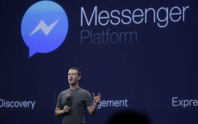 CEO do Facebook aproveitou para divulgar o Messenger como alternativa para o Whatsapp
