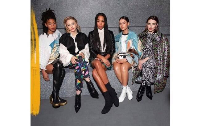 Willow Smith, Chloe Grace Moretz, Laura Harrier, Naomi Scott & Emma Roberts