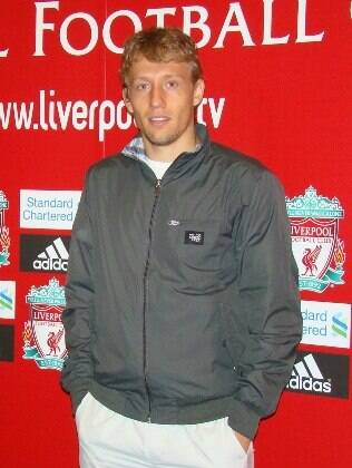Lucas Leiva, volante do Liverpool