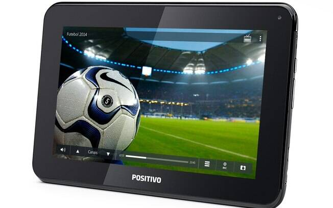 Tablet da positivo tem TV integrada e tela de 7 polegadas