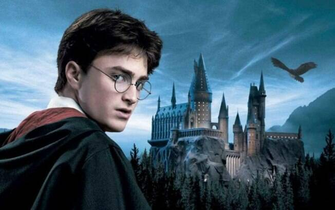Harry Potter é interpretado pelo ator Daniel Radcliff