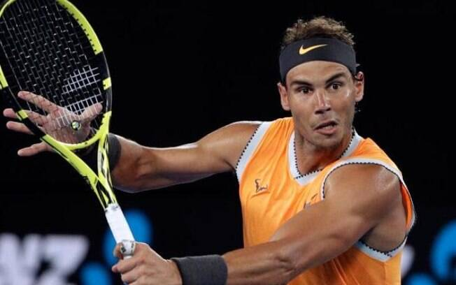 Rafael Nadal está classificado para as oitavas de final do Australian Open