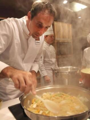 Chef Sylvain Dalle, no evento Casa Boa Mesa
